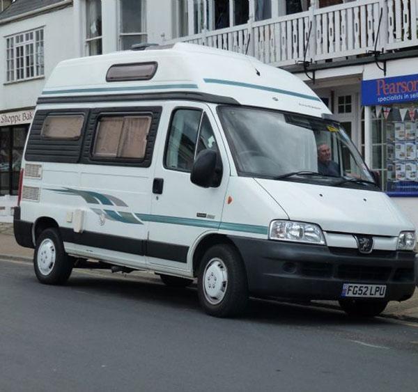 Tim Saunders; Campervans provide complete freedom and affordable holidays