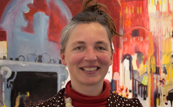 Sussex artist is a Guest in JMW Turner's House
