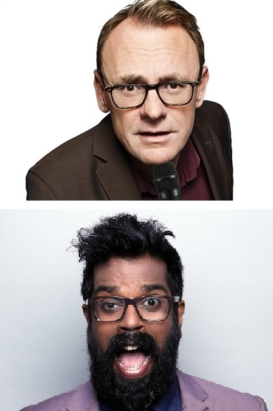 Eastbourne Dates for Two Top UK Comics