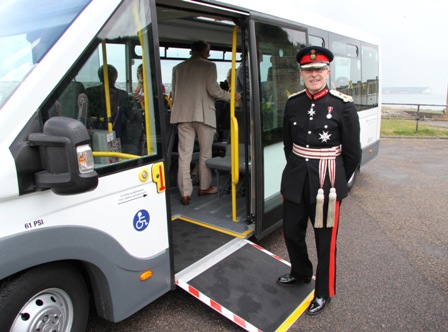 Accessible Minibus Launched By Lord Lieutenant