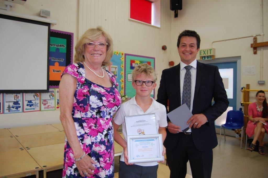 Fletcher, 9, wins sugar reduction logo competition