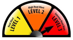 West Sussex residents are being made aware that the Met Office has now declared a Level 3 heat-health alert.