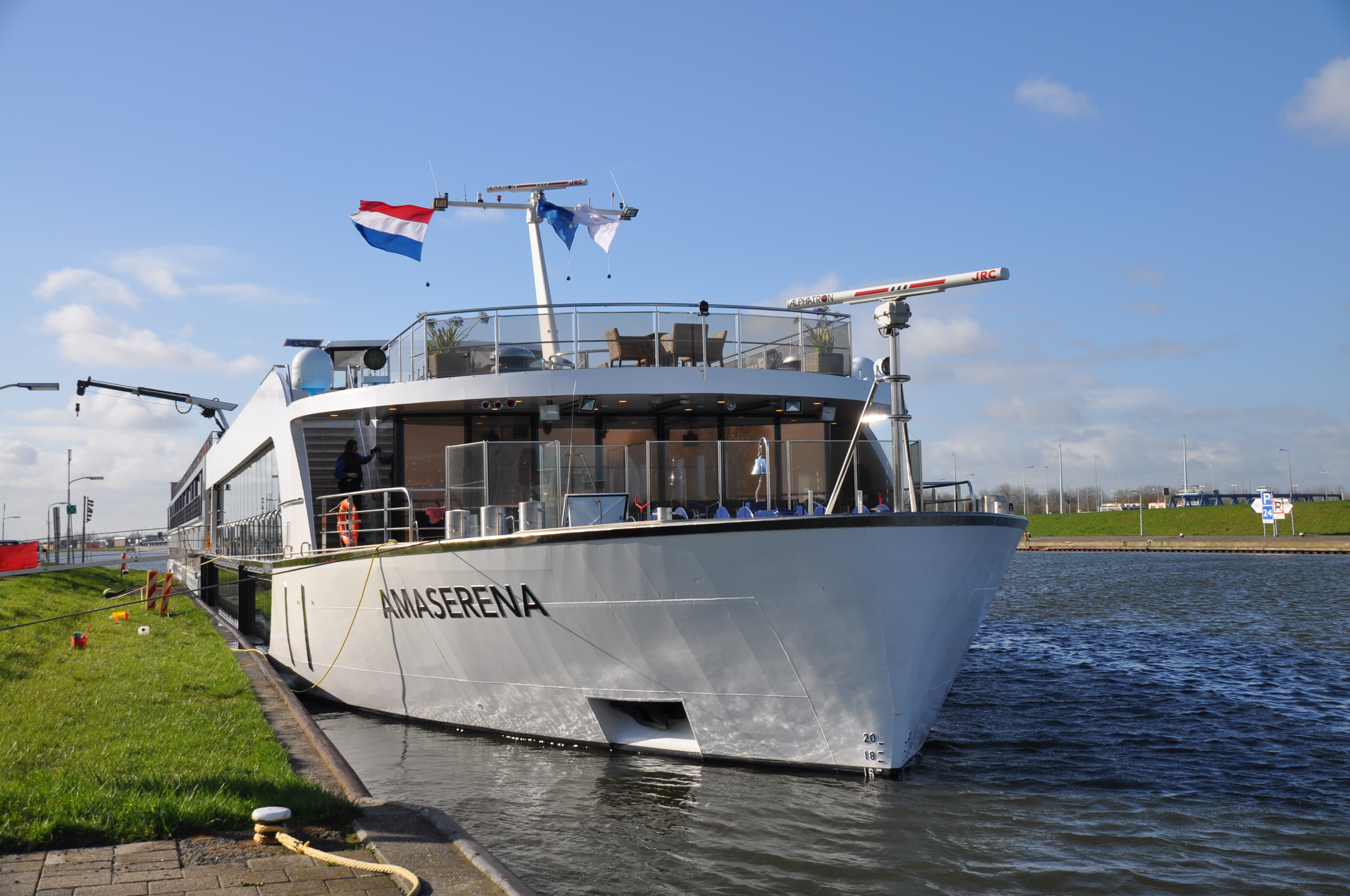 River Cruising on … AmaSerena