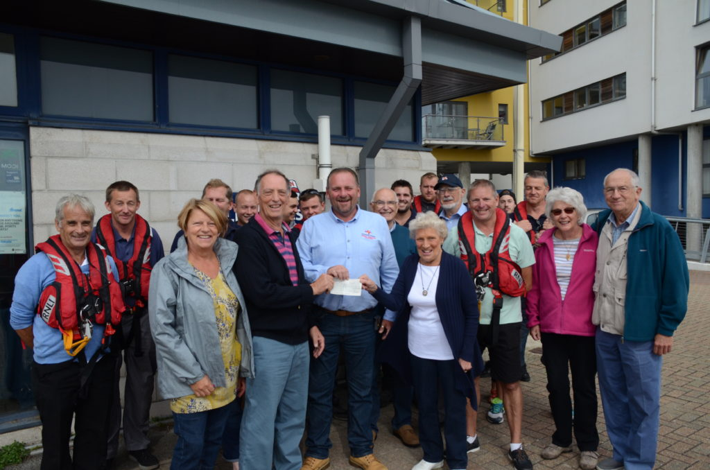 Donation from Eastbourne Model Boat Club