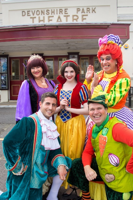 Eastbourne celebrates the arrival of Snow White