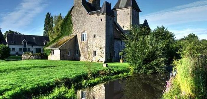 Top ten properties in France:  Saint-Lô (50) – A pretty XV Century Medieval Castle approximately £782,428