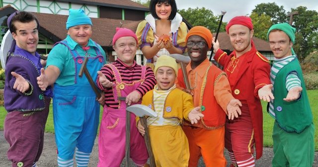 Popular TV Favourite Launches Pantomime in Crawley