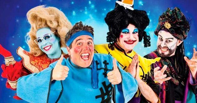 Review – Aladdin – E.M.Forster Theatre, Tonbridge